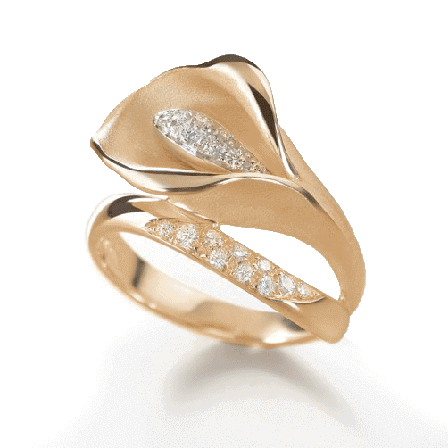 Annamaria Cammilli Calla Collection Made In Italy Ring Gan0233j